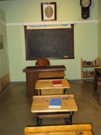 Nanaimo, Kanada: Old school room