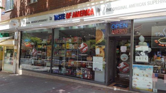Taste of America: Vista desde la calle