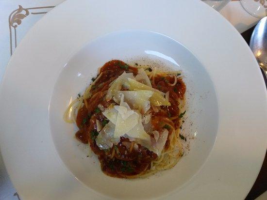 9 suprem: Espaguetis con salsa amatriciana