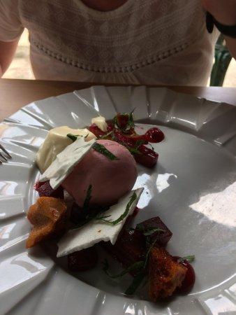 Newborough, UK: Rhubarb