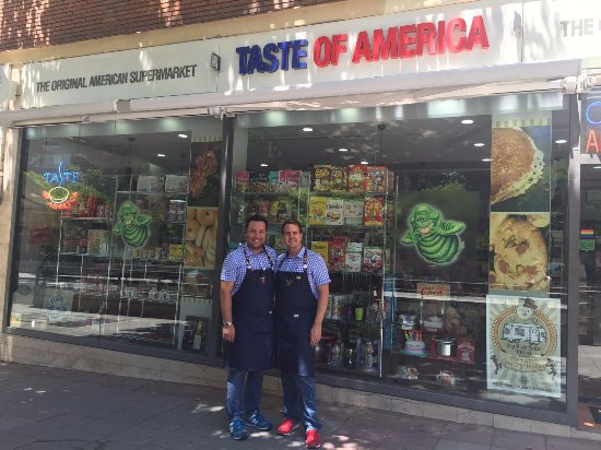 Taste of America: Somos Mark y Simon y estamos para servirte