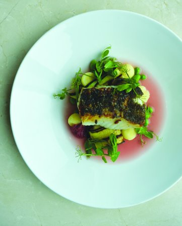 Globe@YVR : Seared Ling Cod