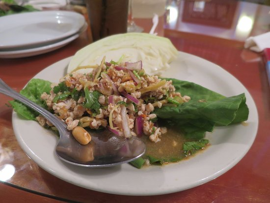 Corinth, MS: larb salad
