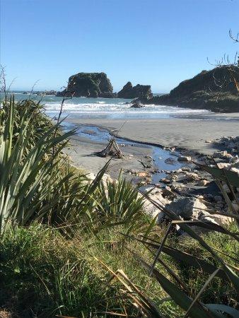Westport, New Zealand: view on walkway
