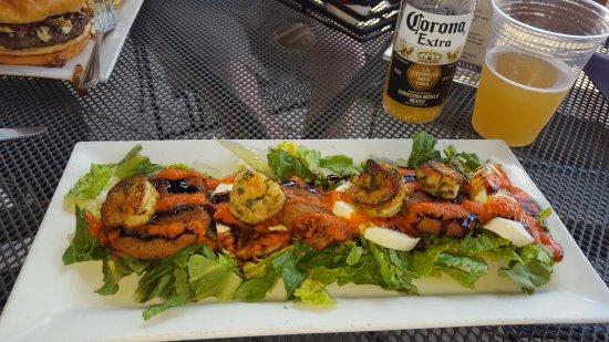 Bluffton, Carolina del Sur: Yummy Fried Green Tomato Salad