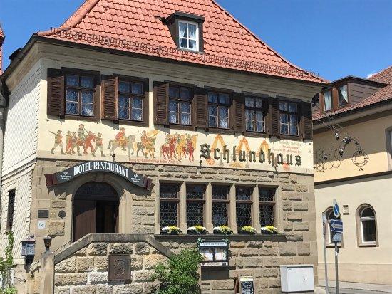 Bad Konigshofen, เยอรมนี: Außenansicht