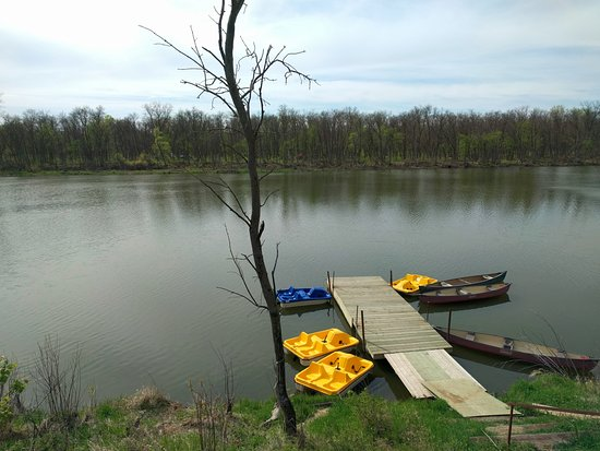 Carberry, Canadá: Kiche Manitou Lake Boat Rentals