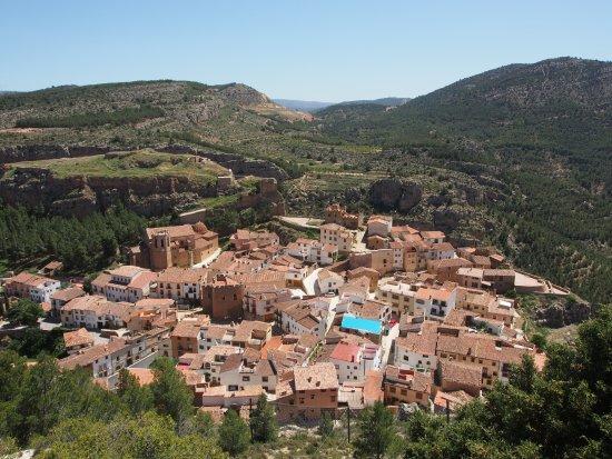 Province of Valencia, İspanya: Blick auf Alpuente