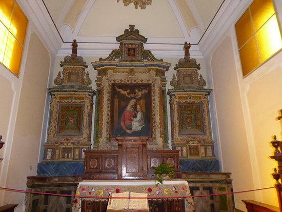 Francavilla di Sicilia, Italy: The small chapel