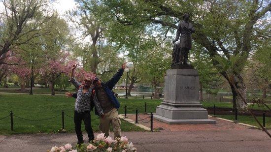 Central Park De Boston Pode N O Ser T O Famoso Mas A Beleza Desse Lugar De Longe Superior A