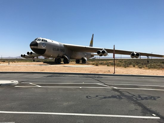 B52 at the Gate - Edwards Air Force Base - Picture of Air ...