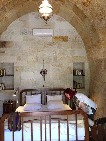 Kapadokya'nın ilk Cave Hotelinden fotoğraflar . Esbelli Evi gerçek bir Butik Otel.Kesinlikle ziy