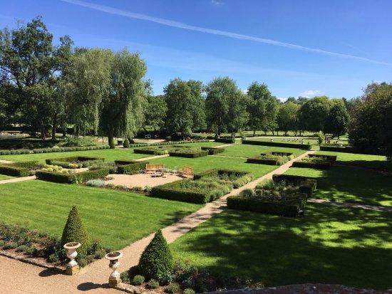 Azay-le-Rideau, France: une partie du jardin