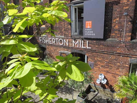 Fisherton Mill: Lovely outside space