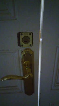 inside lock of door to room 412 picture of hostal balmes centro rh tripadvisor co za