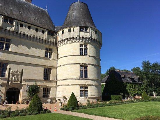 Azay-le-Rideau, France: vue arrière du château
