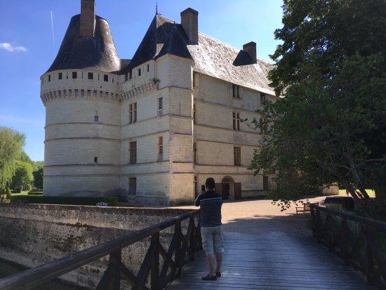 Azay-le-Rideau, Frankrike: côté gauche du chateau