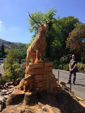 Grasmere, UK: Beautiful wood sculpture