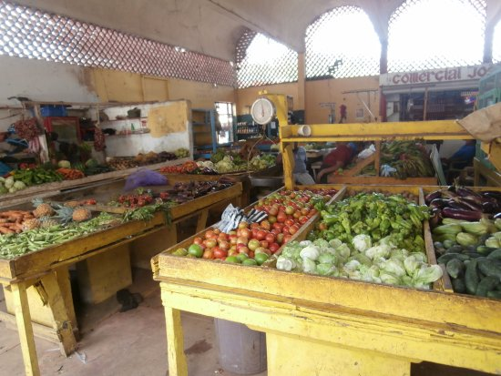 Tauro Tours: Santa Barbara Samana indoor market