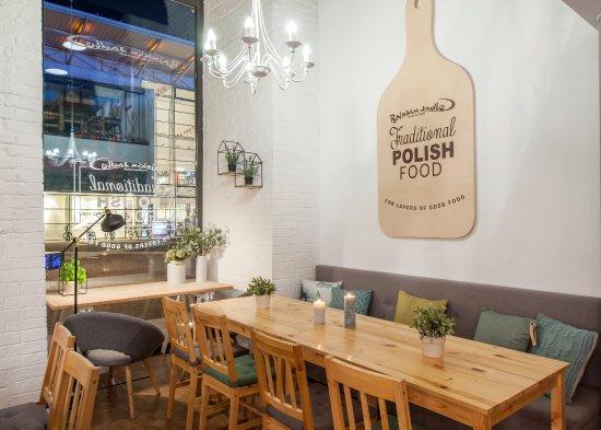 Rajskie Jadło Manufaktura łódź Kuchnia Polska Obiady