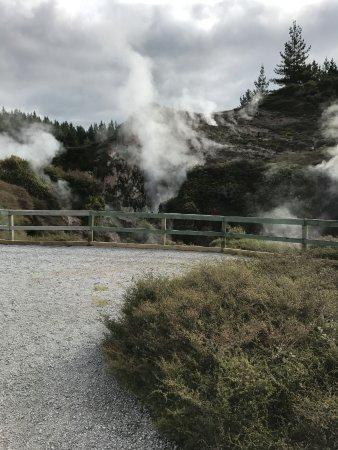 Taupo, Nowa Zelandia: view