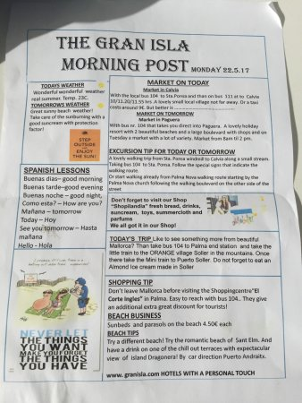 Jutlandia Family Resort: the hotel information paper. a good read.