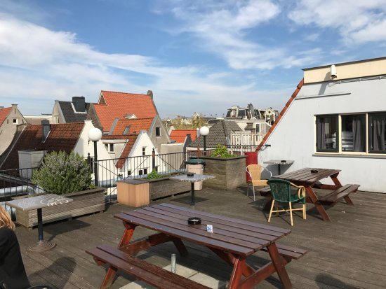 dachterrasse photo de the bulldog hotel amsterdam tripadvisor. Black Bedroom Furniture Sets. Home Design Ideas