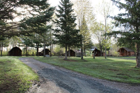 Marmora, Canadá: Log Cabins with bbq's
