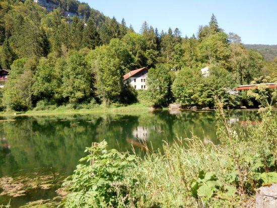 Le Noirmont, Schweiz: En face, la France