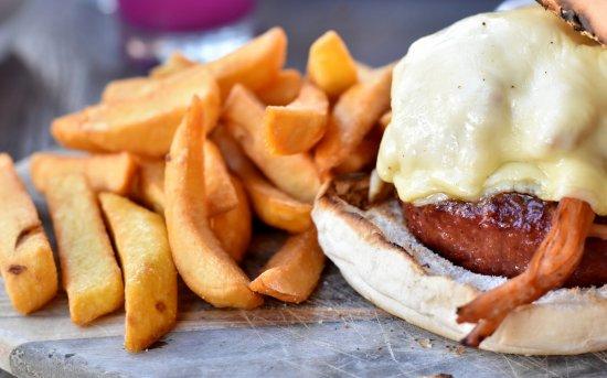 Dieren, Holland: hamburger van pulled pork