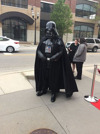 Waukegan, Ιλινόις: What's a Star Wars event without Darth Vader?