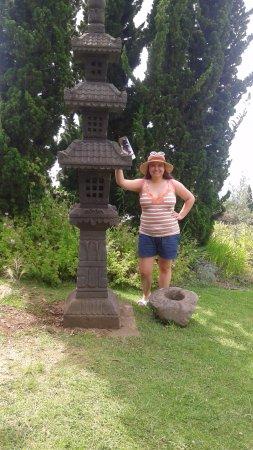 Kula, Hawái: statue near entarance