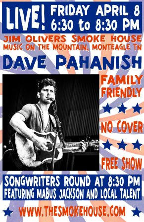 Monteagle, TN: Live Music every Friday & Saturday, Free Admission, Y'all come on out!