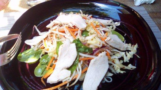 Montmelian, França: salade Thaï. excellente !!