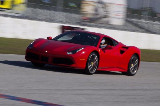 Jupiter, FL: Ferrari 458 Italia on 2.2 Mile Road Course