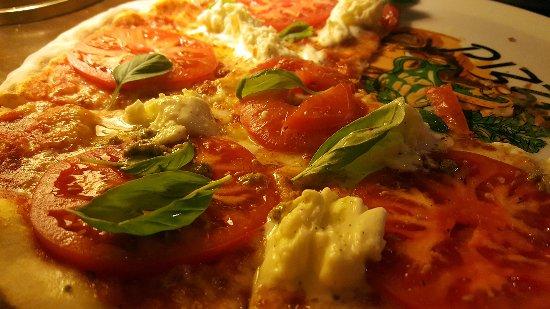 Lublin Province, Poland: The Fresh Mozzarella Pizza