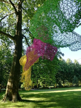 Skulpturen park cologne for Edelrost skulpturen garten