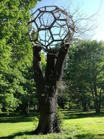 Skulpturen garten k ln rheinpark bild von for Edelrost skulpturen garten