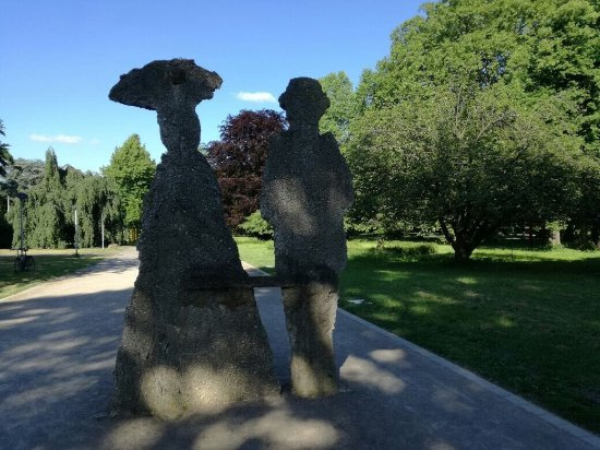 Skulpturen Garten Köln - Rheinpark - Bild von Skulpturenpark Köln ...