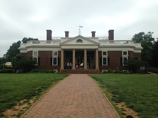 Charlottesville, VA: Front of his home