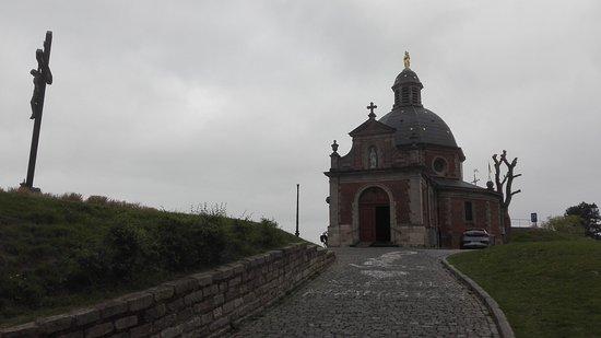 Geraardsbergen, Belgio: De top komt in zicht