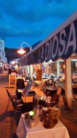 Las Nieves, Spanien: Restaurante Terraza Sidrería la Diosa Del Mar