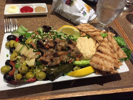 Newton, MA: Mediterranean Salad