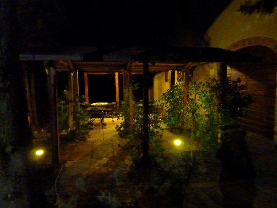 Palazzo Bandino: Porch overlooking Chianciano