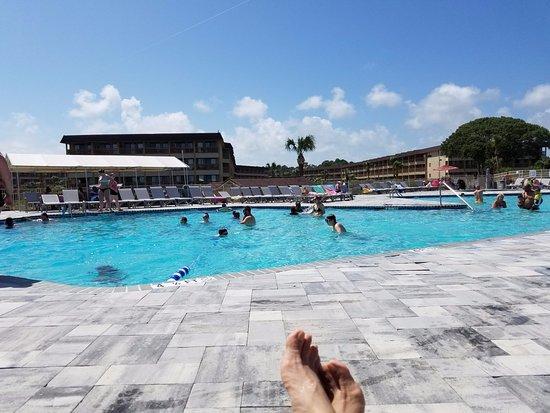 Hilton Head Island Beach & Tennis Resort: the swimming pool