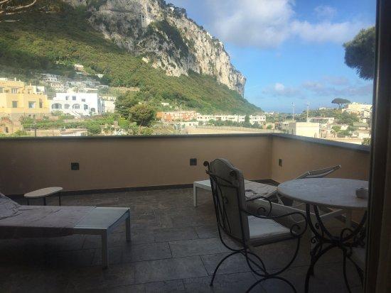 Villa Marina Capri Hotel & Spa: our private balcony