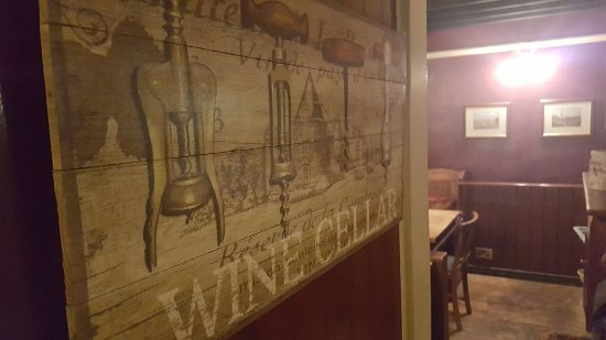 Henley-on-Thames, UK: Wine cellar