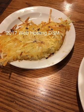 Hash Browns - Picture of Cracker Barrel, Madisonville - TripAdvisor