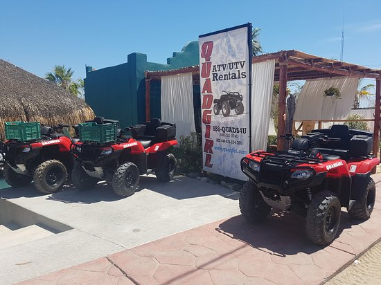 Los Barriles, México: Quadgirl ATV