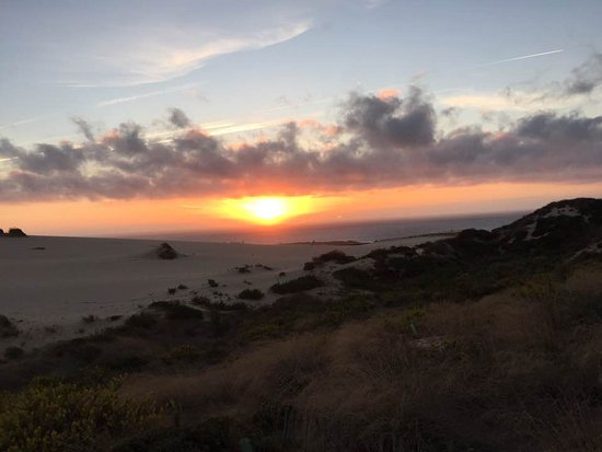 Fortaleza do Guincho: Sun Setting most wSun Setting most westerly point of continentalesterly point of continental eur